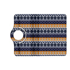 Abstract Elegant Background Pattern Kindle Fire HD (2013) Flip 360 Case
