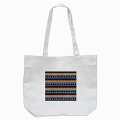 Abstract Elegant Background Pattern Tote Bag (White)