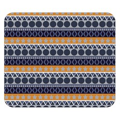 Abstract Elegant Background Pattern Double Sided Flano Blanket (Small)