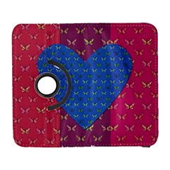 Butterfly Heart Pattern Galaxy S3 (Flip/Folio)