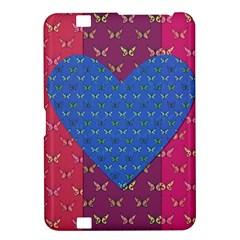 Butterfly Heart Pattern Kindle Fire HD 8.9