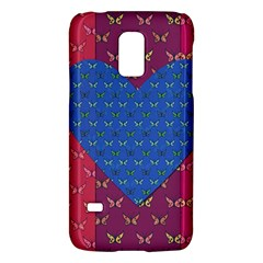 Butterfly Heart Pattern Galaxy S5 Mini