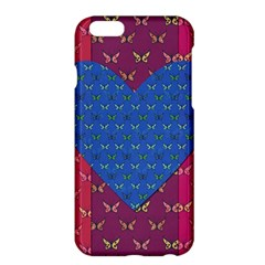 Butterfly Heart Pattern Apple iPhone 6 Plus/6S Plus Hardshell Case