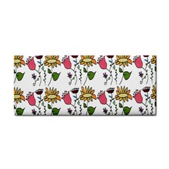 Handmade Pattern With Crazy Flowers Cosmetic Storage Cases