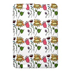 Handmade Pattern With Crazy Flowers Kindle Fire HD 8.9