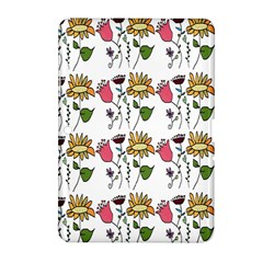 Handmade Pattern With Crazy Flowers Samsung Galaxy Tab 2 (10.1 ) P5100 Hardshell Case