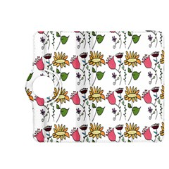 Handmade Pattern With Crazy Flowers Kindle Fire Hdx 8 9  Flip 360 Case