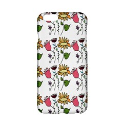 Handmade Pattern With Crazy Flowers Apple iPhone 6/6S Hardshell Case