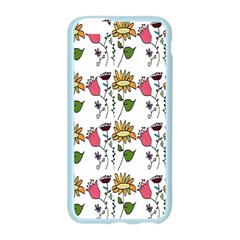 Handmade Pattern With Crazy Flowers Apple Seamless iPhone 6/6S Case (Color)