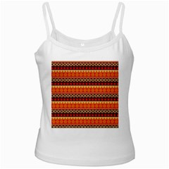 Abstract Lines Seamless Pattern Ladies Camisoles
