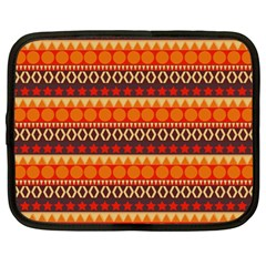 Abstract Lines Seamless Pattern Netbook Case (Large)