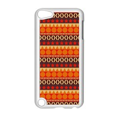 Abstract Lines Seamless Pattern Apple iPod Touch 5 Case (White)