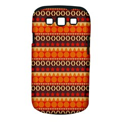 Abstract Lines Seamless Pattern Samsung Galaxy S III Classic Hardshell Case (PC+Silicone)