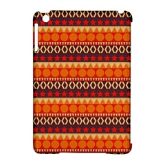 Abstract Lines Seamless Pattern Apple iPad Mini Hardshell Case (Compatible with Smart Cover)