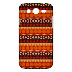 Abstract Lines Seamless Pattern Samsung Galaxy Mega 5.8 I9152 Hardshell Case