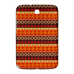 Abstract Lines Seamless Pattern Samsung Galaxy Note 8.0 N5100 Hardshell Case