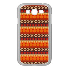 Abstract Lines Seamless Pattern Samsung Galaxy Grand Duos I9082 Case (white)