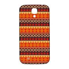 Abstract Lines Seamless Pattern Samsung Galaxy S4 I9500/I9505  Hardshell Back Case