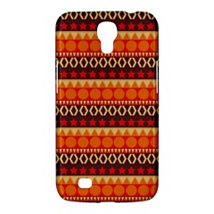 Abstract Lines Seamless Pattern Samsung Galaxy Mega 6.3  I9200 Hardshell Case