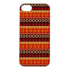 Abstract Lines Seamless Pattern Apple iPhone 5S/ SE Hardshell Case
