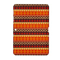 Abstract Lines Seamless Pattern Samsung Galaxy Tab 2 (10.1 ) P5100 Hardshell Case