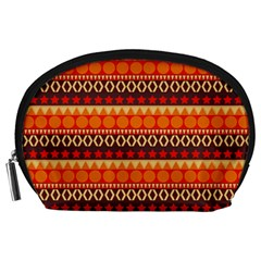 Abstract Lines Seamless Pattern Accessory Pouches (Large)