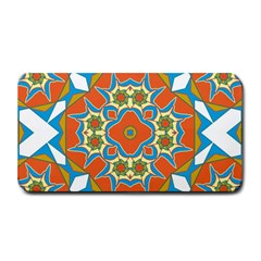Digital Computer Graphic Geometric Kaleidoscope Medium Bar Mats