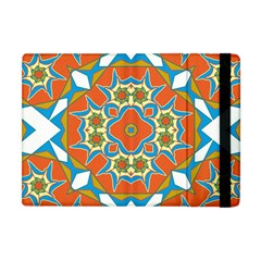 Digital Computer Graphic Geometric Kaleidoscope Apple Ipad Mini Flip Case