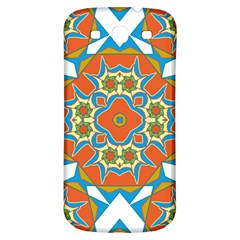 Digital Computer Graphic Geometric Kaleidoscope Samsung Galaxy S3 S III Classic Hardshell Back Case