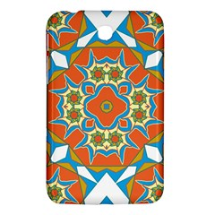 Digital Computer Graphic Geometric Kaleidoscope Samsung Galaxy Tab 3 (7 ) P3200 Hardshell Case