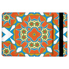 Digital Computer Graphic Geometric Kaleidoscope iPad Air 2 Flip