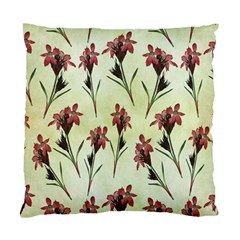 Vintage Style Seamless Floral Wallpaper Pattern Background Standard Cushion Case (two Sides)