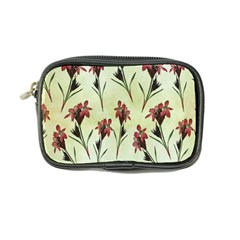 Vintage Style Seamless Floral Wallpaper Pattern Background Coin Purse