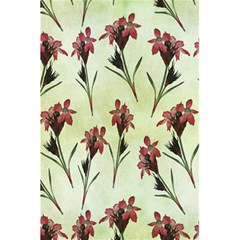 Vintage Style Seamless Floral Wallpaper Pattern Background 5.5  x 8.5  Notebooks
