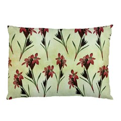 Vintage Style Seamless Floral Wallpaper Pattern Background Pillow Case (Two Sides)