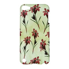 Vintage Style Seamless Floral Wallpaper Pattern Background Apple Ipod Touch 5 Hardshell Case