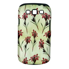 Vintage Style Seamless Floral Wallpaper Pattern Background Samsung Galaxy S III Classic Hardshell Case (PC+Silicone)
