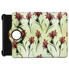 Vintage Style Seamless Floral Wallpaper Pattern Background Kindle Fire HD 7