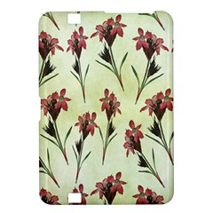 Vintage Style Seamless Floral Wallpaper Pattern Background Kindle Fire Hd 8 9