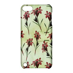 Vintage Style Seamless Floral Wallpaper Pattern Background Apple iPod Touch 5 Hardshell Case with Stand