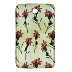 Vintage Style Seamless Floral Wallpaper Pattern Background Samsung Galaxy Tab 3 (7 ) P3200 Hardshell Case
