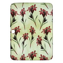 Vintage Style Seamless Floral Wallpaper Pattern Background Samsung Galaxy Tab 3 (10.1 ) P5200 Hardshell Case