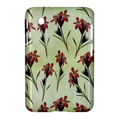 Vintage Style Seamless Floral Wallpaper Pattern Background Samsung Galaxy Tab 2 (7 ) P3100 Hardshell Case