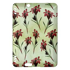 Vintage Style Seamless Floral Wallpaper Pattern Background Kindle Fire HDX Hardshell Case