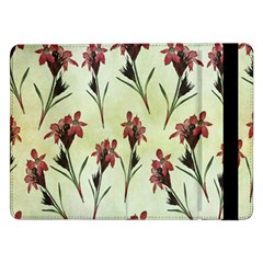 Vintage Style Seamless Floral Wallpaper Pattern Background Samsung Galaxy Tab Pro 12.2  Flip Case