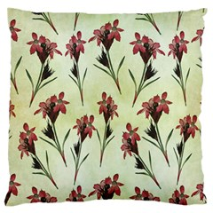 Vintage Style Seamless Floral Wallpaper Pattern Background Large Flano Cushion Case (two Sides)