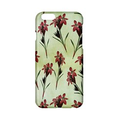 Vintage Style Seamless Floral Wallpaper Pattern Background Apple iPhone 6/6S Hardshell Case