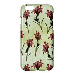 Vintage Style Seamless Floral Wallpaper Pattern Background Apple Iphone 6 Plus/6s Plus Hardshell Case