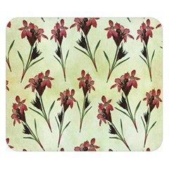 Vintage Style Seamless Floral Wallpaper Pattern Background Double Sided Flano Blanket (small)