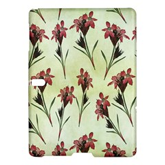 Vintage Style Seamless Floral Wallpaper Pattern Background Samsung Galaxy Tab S (10.5 ) Hardshell Case